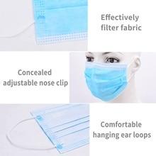 50Pcs/Lot Profession Anti Virus Medical Mouth MASK Disposable Elastic Mouth Breathable Face Mask KN95 N95 Masks Earloops Masks