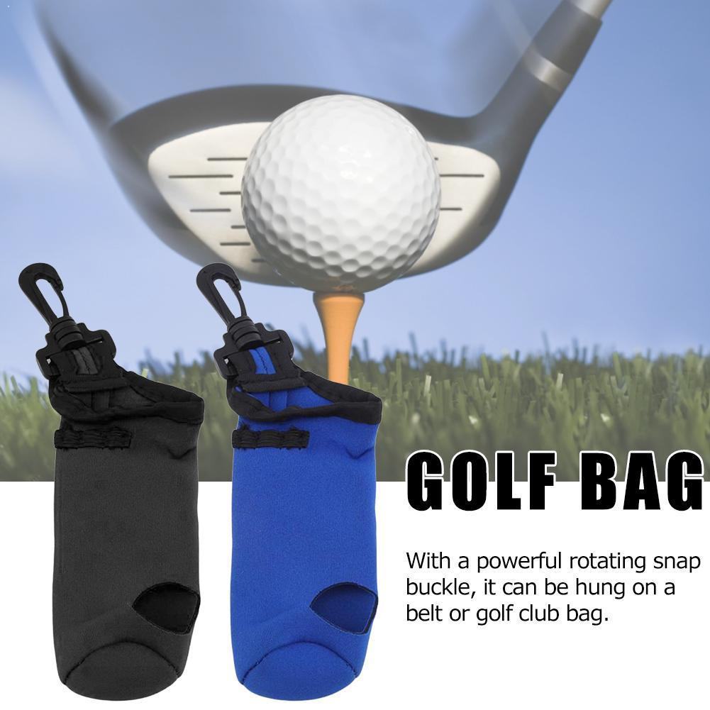 1pc Golf Bag High Quality Portable Small Holder Carrying Belt Clip Waist Entertainment Outdoor Storage With Case Swivel K9E1