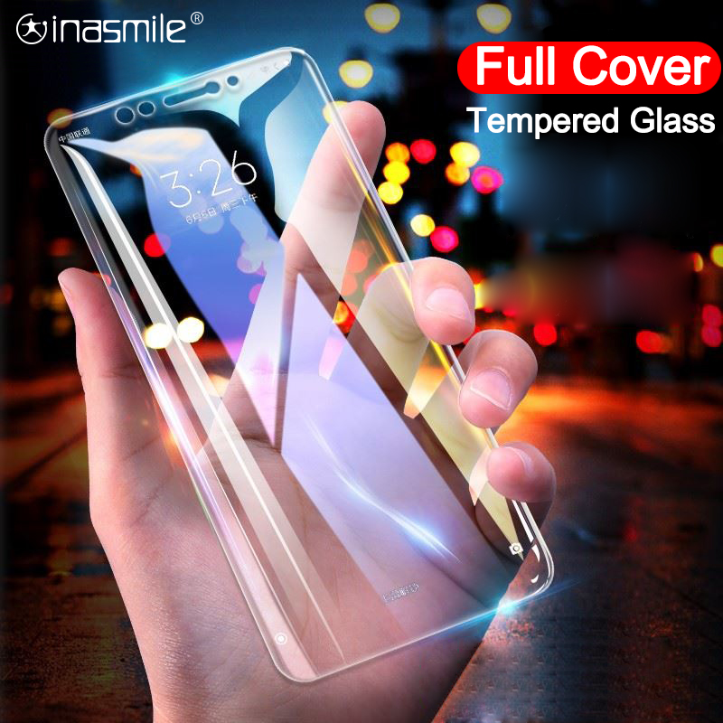 New Full Cover Tempered Glass Screen Protector For Xiaomi Redmi 6A 6 Pro 5A 5 Plus 4X Note 6 5A 5 4 3 HD Protective Glass Film