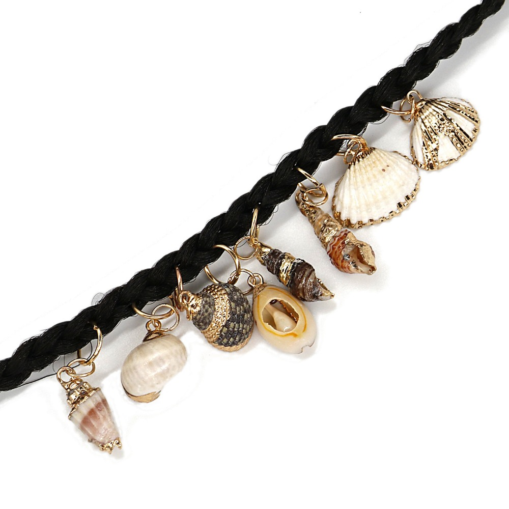 trança jóias espiral metal microlink tubo encantos