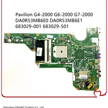 Mainboard Hp Pavilion Tested DA0R53MB6E1 Laptop for G4-2000/G6/G6-2000/G7-2000 683029-501