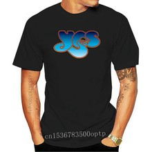 YES (Band) Logo T-Shirt S-M-L-XL Brand New Official Hi Fidelity Merchandise Cotton Plus Size Tops Tee Shirt