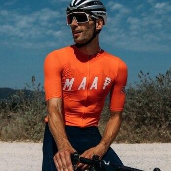 Maap-maillot de Manga corta para ciclismo, verano, 2020