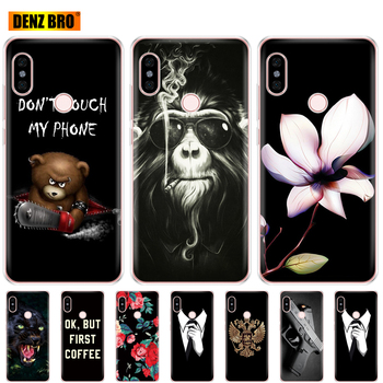 For Xiaomi Redmi Note 5 global version Case soft tpu silicone back Cover For redmi note 5 pro phone case protective coque bumper image