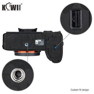 Image 4 - Чехол для Камеры Kiwifotos, защита от царапин, Защитная пленка для Sony A7R IV A7RIV A7R4 A7R Mark IV, черная наклейка 3 м