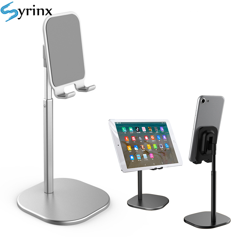 Flexible Portable Alumium Desktop Stand For Cell Mobile Phone Holder Live Desk Tablet Adjustable Mount For IPad Iphone Support