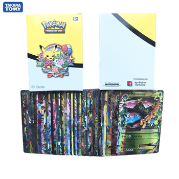 60pcs/Box Pokemon Cards Mega Monster Trading Card TCG: Sun & Moon  Evolutions Booster Box Collectible Card Toys For Children 1