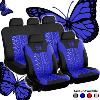 Car Seat Covers Set Universal Fit Most Cars Covers with Tire Track Detail Styling Car Seat Protector Four Seasons For Seats appdee car seat covers for front back seat covers car cushion four seasons flocking cloth car styling auto accessories warm
