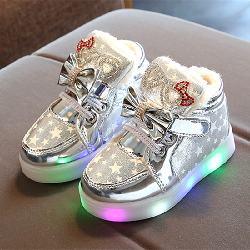 Casual Colorful Light Star Luminous Boots 4