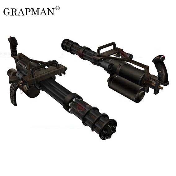 Paper Model Weapons Gatling M134 Vulcan Machine Gun Simulation 1:1 Scale  3d Puzzles Model Toys Free Shipping