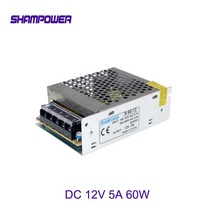 цена на DC 12V Power Supply 60W 5A AC 110V/220V To DC 12V Switch Power Supply Security Adapter Power Supply For LED Strip Light motor S