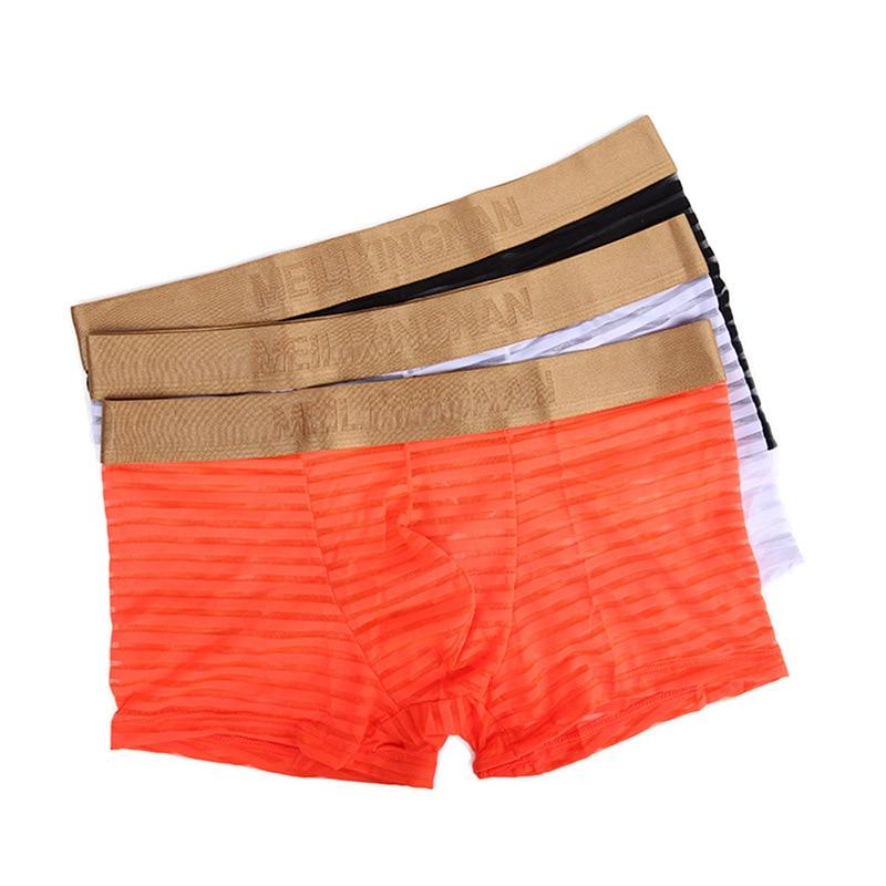 Дышащее Мужское нижнее белье оптом WJ мужское Сетчатое дышащее двойное стринги T брюки сексуальное мужское нижнее белье