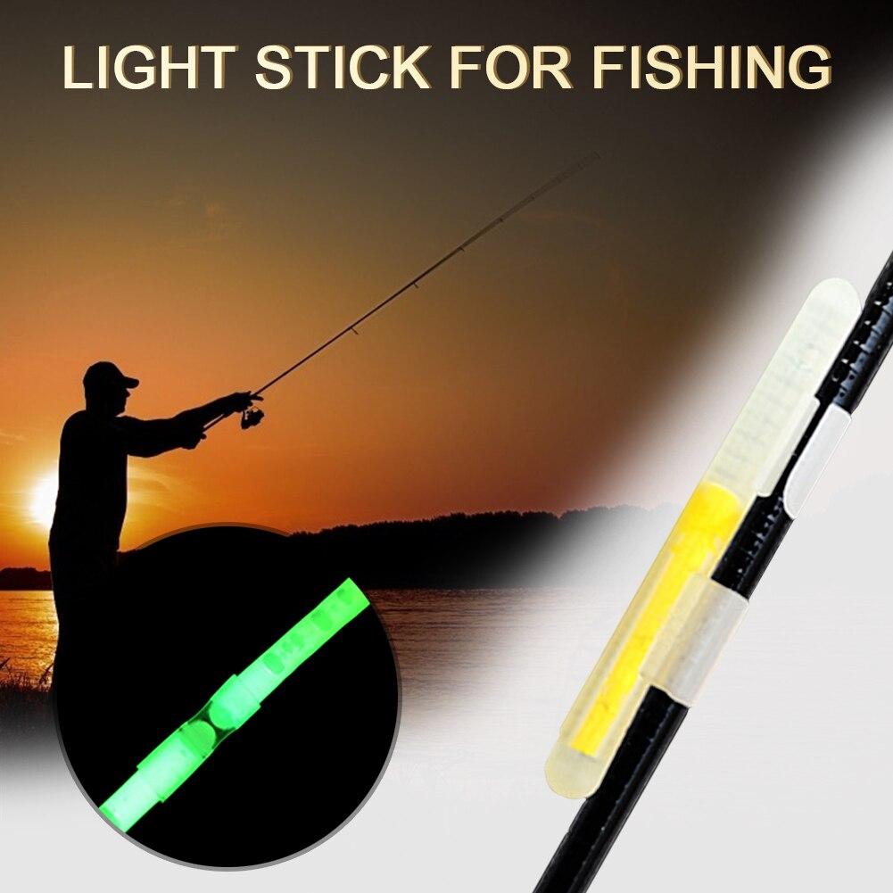 5pcs Fishing Float LED Electric Light Fishing Float Fluorescent Float Night Light Dark Glow Useful Lots Fishing Rod Tool