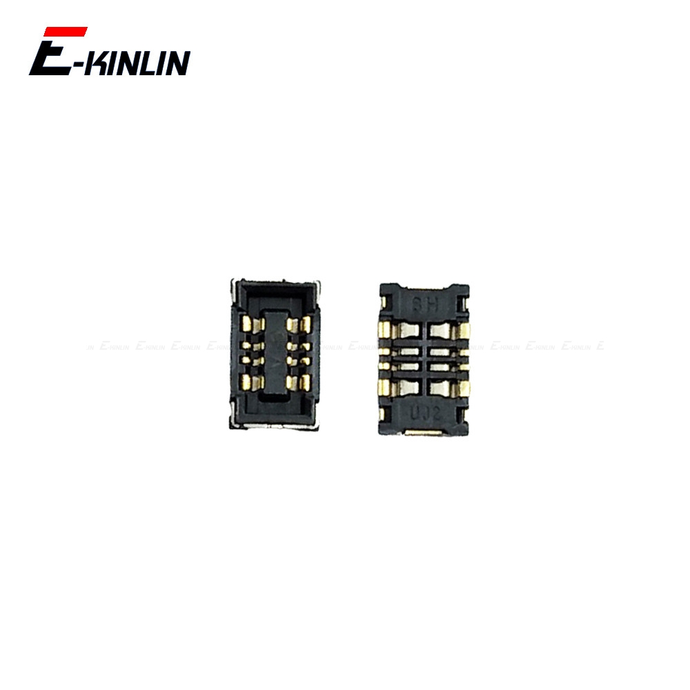 2pcs Battery Inner FPC Connector Contact Holder For Samsung Galaxy S10 Plus S10e S6 S7 S8 Note 5 7 On Board