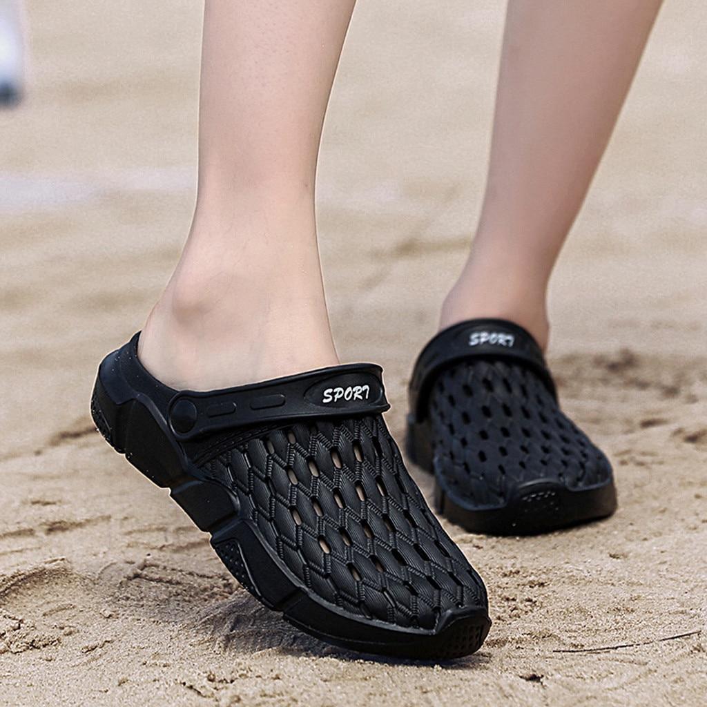 Men Womens Flat Breathable Non Slip Sandals Flip Flops Casual Beach Shoe Slipper fashion Leisure Comfortable daily durable|Slippers|   - AliExpress