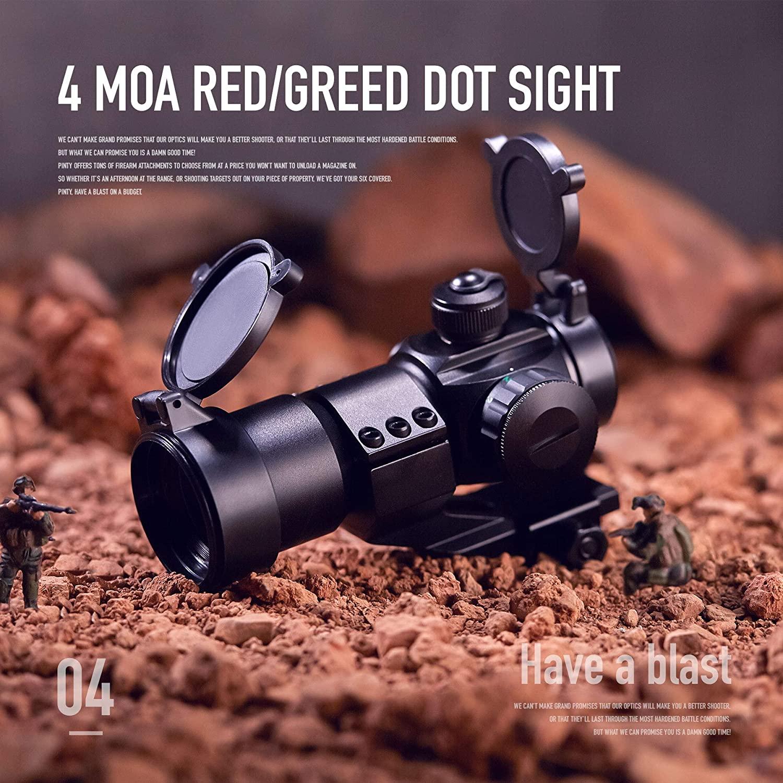 ou tecelao rails rifle escopo holografico airsoft 05