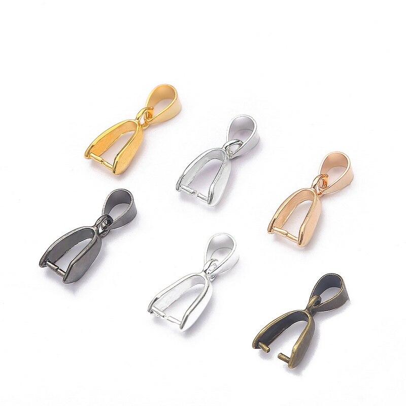 10 pçs cobre charme bola contas melão sementes fivela chapeado pingentes fecho clipes para diy jóias fazendo colar supplie