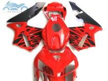 100% fit Injection fairing kit fit for Honda CBR600RR 2005 2006 CBR 600 RR 05 06 soprts fairing kits red black bodywork JK13