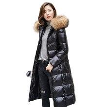 Collar Overcoat Long 90%White