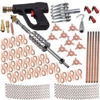 86Pcs for Stud Welder Dent Puller Kit Spot Welding Pulling System Auto Repair Tools Device Stud Welding Hammer Gun