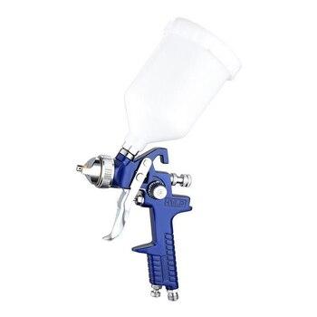цена на 1.4mm 1.7mm Professional HVLP Air Spray Gun Paint Sprayer 600ml Gravity Feed Airbrush Kit Car Furniture Painting Spraying Tool
