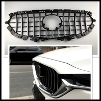 CAR RACING GRILLE FOR MAZDA CX 5 CX5 FRONT MESH GRILLE AUTO 2017 2018 EXTERIOR MASK TRIMS COVERS BUMPER ABS MODIFIED GRILL