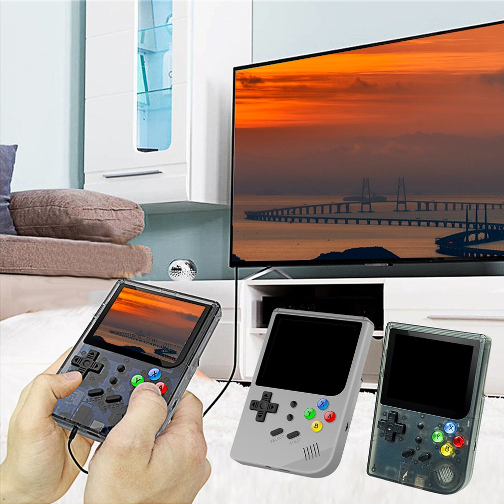 Rg300 3.0 Polegada High-Definition Av Grande-Jogo Tela Do Console Portátil Pequeno Mini Handheld Game Console