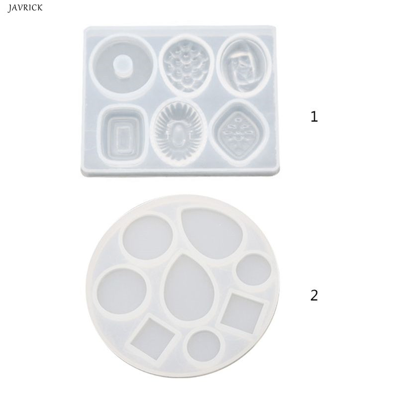 DIY Crafts Making Crystal Epoxy Mold Earrings Candy Mould High Mirror UV Resin Silicone Molds