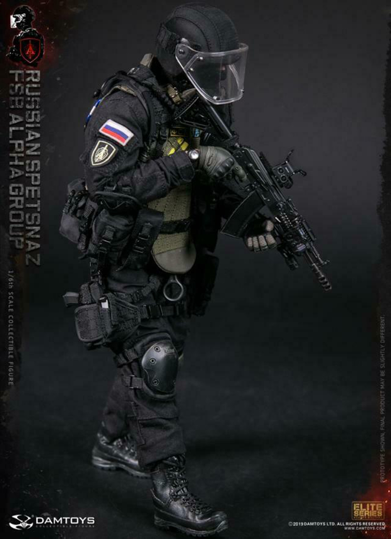 1/6 DAMTOYS 78064 soldier figure RUSSIAN SPETSNAZ FSB ALPHA GROUP ACTION FIGURE Collectible 1