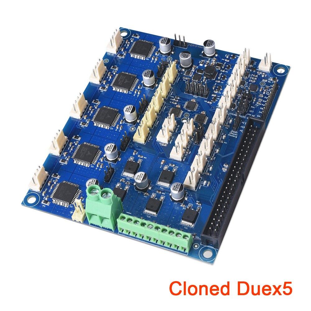 Carte d'extension Duex5 clonée avec contrôleur TMC2660 pour imprimante PT100 Thermocouple 3D carte mère CNC VS duo 2 WIFI