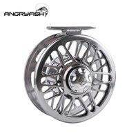Angryfish 플라이 낚시 릴 GearRatio10:1 CNC 가공 알루미늄 합금 바디 낚시 릴 3/4  5/6  7/8  9/10