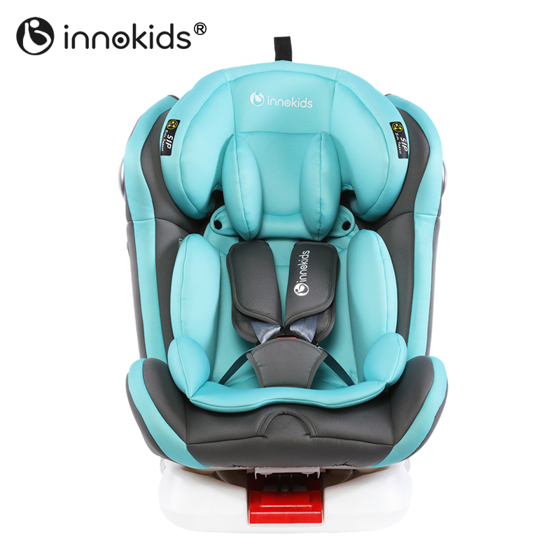 Innokids Child Car Safety Seat 360 Degree Rotating Baby Car Seat Sit and Lay Isofix Latch Interface Kids Car Seat for 0~12 Y