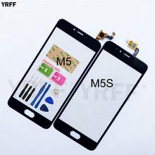 5.2 screen screen tela sensível ao toque para meizu m5 m5s digitador da tela de toque sensor substituição do painel vidro