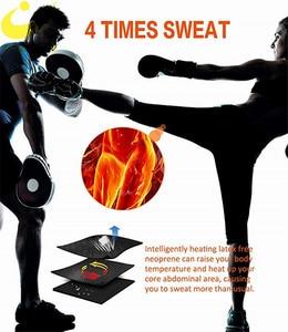 Image 3 - Lazawg Vrouwen Sauna Gewichtsverlies Zweet Controle Pant Afslanken Neopreen Hot Leggings Slim Fitness Workout Hot Thermo Zweet Leggings