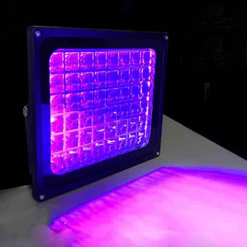 UV 硬化ランプは、 UV 影ランプ 365nm 395nm 405nm 印刷露光紙幣携帯電話の画面のガラス接合グリーンオイル