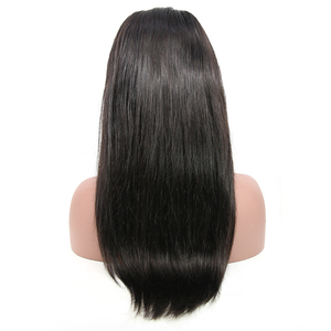 Image 5 - 6x6 Lace Closure Wig Brazilian Virgin Hair Straight Lace Front Human Hair Wigs For Black Women Pre Plucked Wigs DJSbeauty