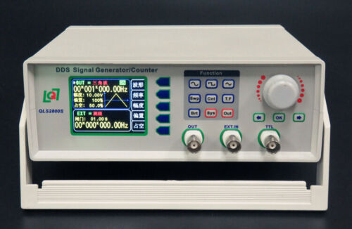 QLS2802S-2M/5M DDS Signal Generator/Counter Frequency Counter 2.4