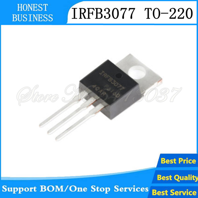 10PCS-20pcs/lots IRFB3077PBF TO220 IRFB3077 TO-220 IC In stock!