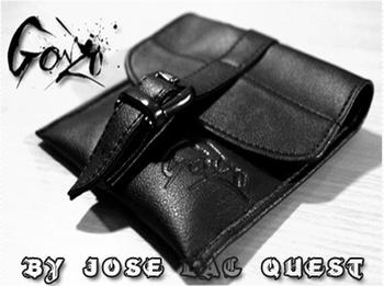 2015 Gonzo przez Jose Lac #8217 Quest tanie i dobre opinie Metal Różne rekwizyty Unisex Jeden rozmiar 8-11 lat STARSZE DZIECI 12-15 lat ŁATWE DO WYKONANIA Profesjonalne Zniknięcie