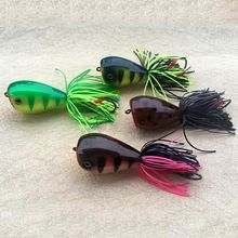 New 3D Thunder Frog Fishing Bait Fake Simulation Frogs Baits Lure Sequin Supplies Hard Lures