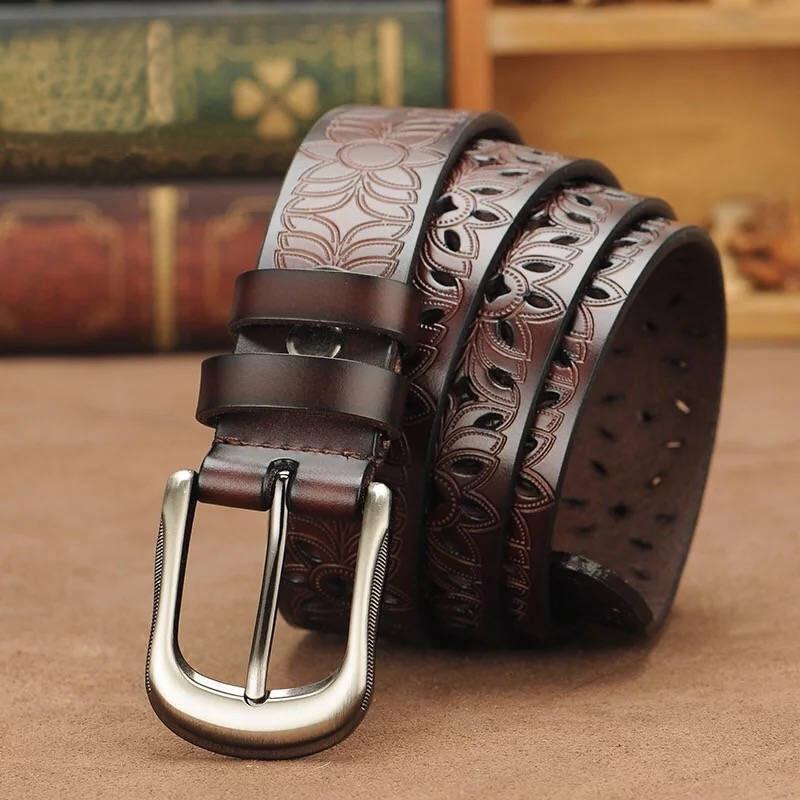 Top Quality Brown Black Belt 2