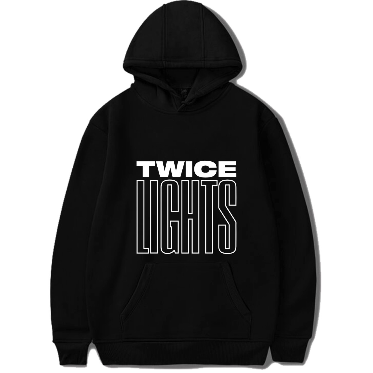TWICE Korean Style Combination TWICELIGHTS Tour Concert Support The Same Paragraph Kpop Cool Fashion New Hoodies Sweatshirt