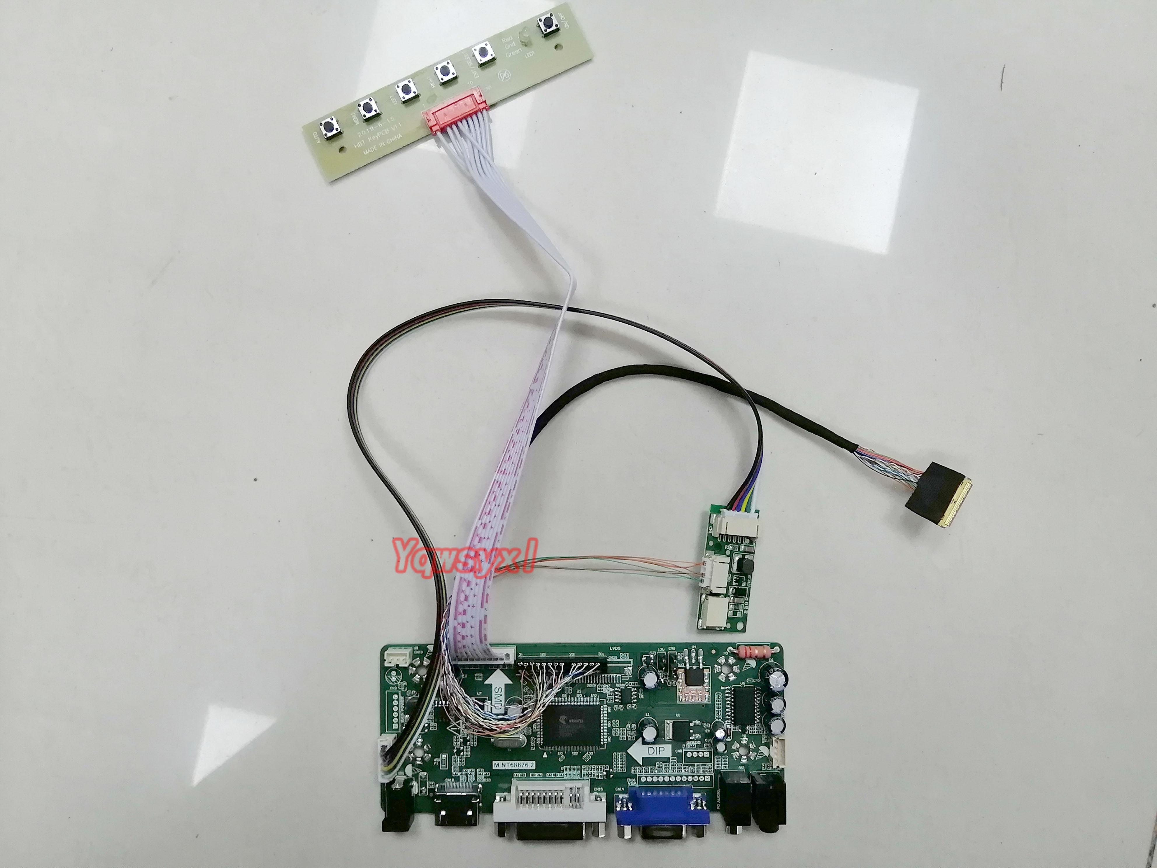 HDMI+DVI+VGA Controller Board Driver kit for LCD Panel LP154WP4-TLA1