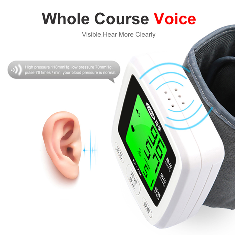 Image 3 - Cofoe Wrist Blood Pressure Monitor Home Portable Digital Automatic Sphygmomanometer for Measuring Blood Pressure and Pulse RateBlood Pressure   -