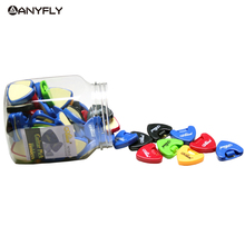 Alice A010A-G 72pcs/Can Durable Plastic Guitar Pick Picks Holder Triangle Shape Acoustic Electric Parts Wholesales