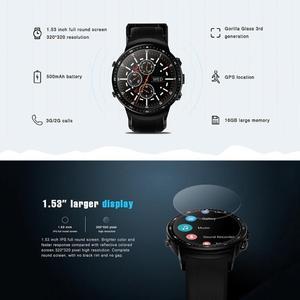 """Image 4 - Zeblaze Thor PRO 3G GPS montre intelligente 1.53 """"IPS Android 5.1 Quad Core 1GB 16GB BT4.0 Sport Smartwatch caméra moniteur de fréquence cardiaque"""