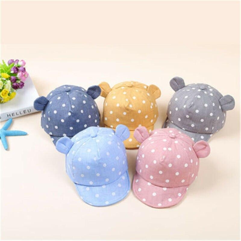 Модная летняя хлопковая Солнцезащитная шляпа для маленьких мальчиков и девочек, Пляжная полосатая шляпа с полями для детей 8-20 месяцев, 5 цве...