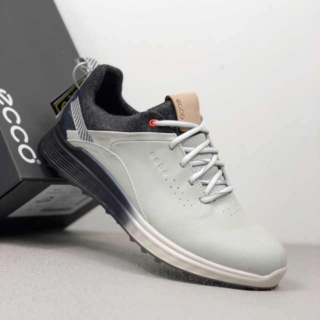 New Brand Men Golf Shoes Leather Professional Golf Sport Sneakers Black White Classic Mens Golf Trainers 2020 2