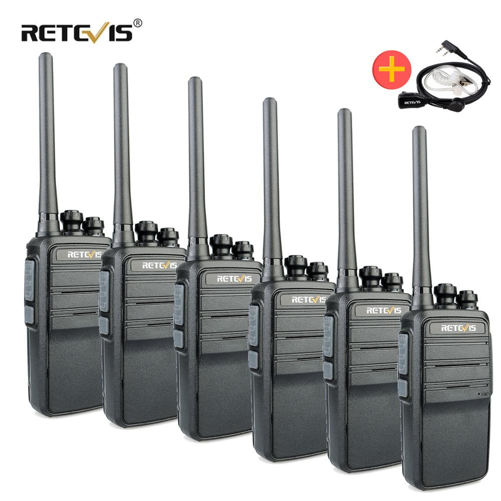 Retevis RT53 DMR Digital Walkie Talkie 4PCS 2W UHF DMR Radio Two Way Radio Comunicador Transceiver Handsfree Walkie Talkies Ham