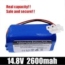 14.8V 2600mAh 3200MAH batterie Pack remplacement pour Ilife A6 V7 V7S Pro Robot balayeuse aspirateur de haute qualité